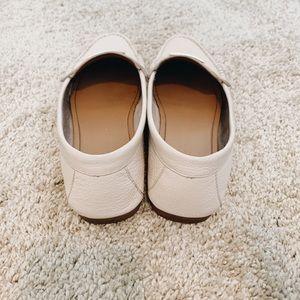 Coach Shoes - Coach beige flats